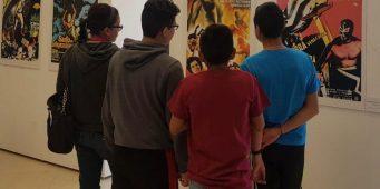 Invita cultura Coahuila a la exposición de carteles de luchadores enmascarados