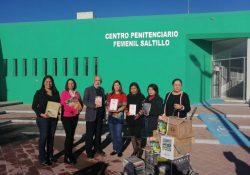 Recibe Centro penitenciario femenil acervo bibliográfico