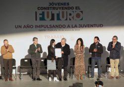 """Con """"Jóvenes Construyendo el Futuro"""" disminuyó deserción escolar"""