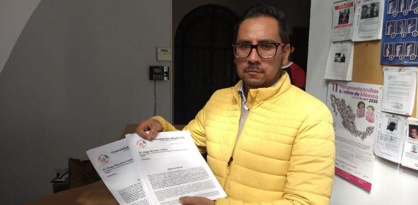 Por incitar al odio presentan queja contra diputado del PAN