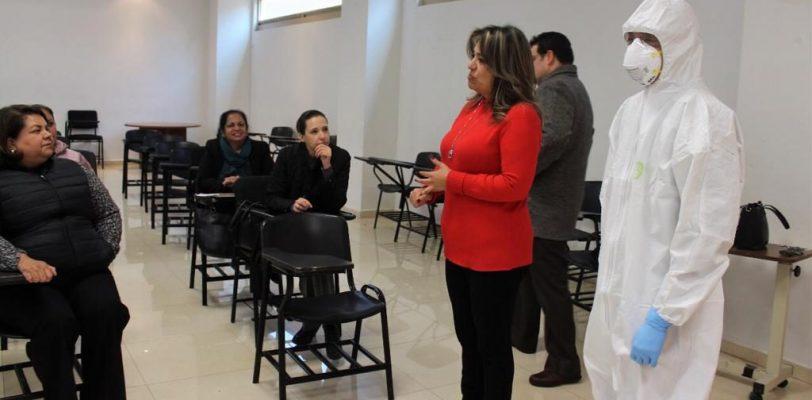 Capacita Salud Coahuila a personal médico ante coronavirus