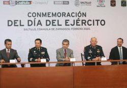 Rinde Coahuila homenaje al Ejército Mexicano