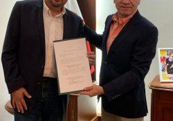 Nombra Miguel Riquelme a José Gutiérrez Jardón como nuevo titular de la unidad de atención regional de la Laguna