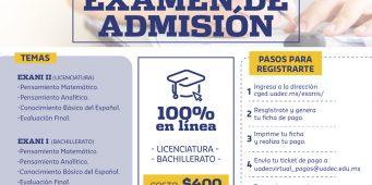 No Olvides Registrarte al Curso de Preparación para el Examen de Admisión EXANI I y EXANI II