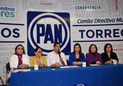 Se convierten sedes del PAN en centros de resguardo para mujeres