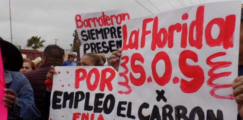 Realizan Caravana de la Solidaridad por el rescate de la región Carbonífera
