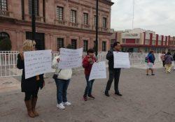 Protestan por malas condiciones en el sector salud