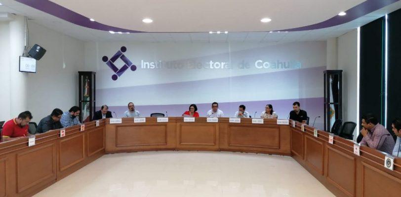Proceso electoral en Coahuila sigue adelante: IEC