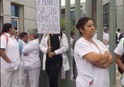 Exigen trabajadores del ISSSTE protección para atender a pacientes con Covid-19