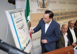 Fortalece municipio el eje Saltillo Honesto
