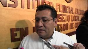 José Luis Vázquez López, Vocal Ejecutivo del IFE en Coahuila invito a los ciudadanos a inscribirse en la convocatoria.