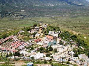 Comunidad de Salaverna en Zacatecas