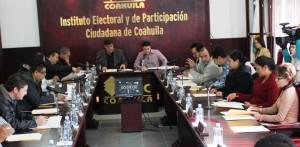 Sesión del Consejo Electoral y de Participación Ciudadana