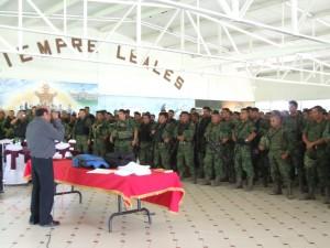 Imparten a Militares curso del Nuevo Sistema de Justicia