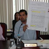 Documento que muestra que el Presidente del IEPCC escrituró estaciones de radio a Vicente Chaires.