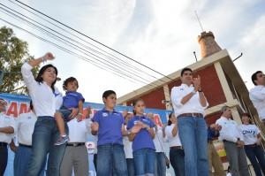 Cierra campaña Chuy de León en Torreón