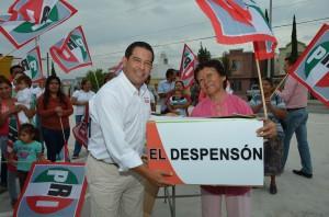 Asegura Ricardo Aguirre no habrá más familias con hambre