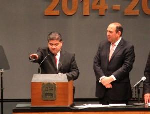 Toma protesta Miguél Ángel Riquelme como alcalde de Torreón