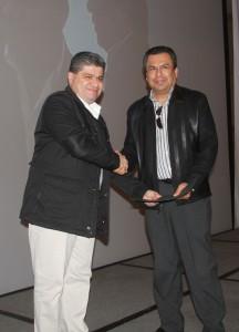Miguel Ángel Riquelme nombra a  Jorge Luis Morán como Secretario del Ayuntamiento.