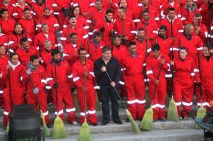 Brigada de limpieza
