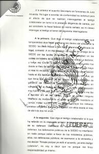 El testigo protegido revela que fue torturado para declarar en contra de funcionarios de Coahuila