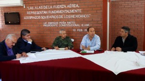Realiza Rubén Moreira reuniones de seguridad en Torreón y Monclova