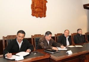 Firman convenio SENTE con el gobieno de Coahuila 6