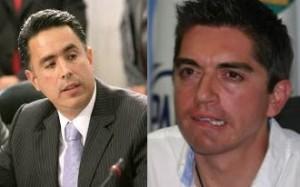 Guillermo Anaya Llamas y Luis Fernando Salazar