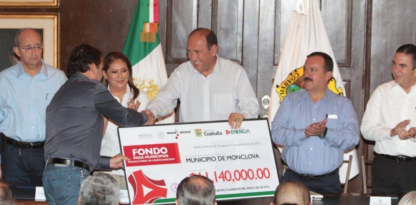 Se beneficia Coahuila con 611 mdp por reforma energética