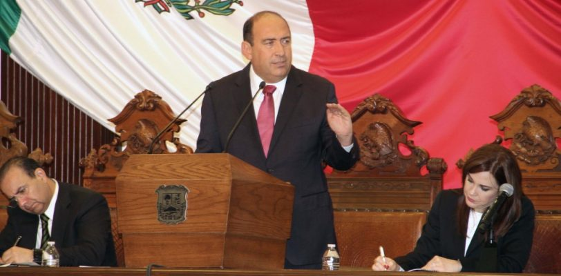 Rinde Rubén Moreira su IV informe de Gobierno