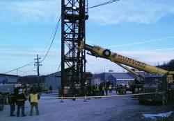 Rescatan a 17 mineros atrapados en una mina de sal en Nueva York
