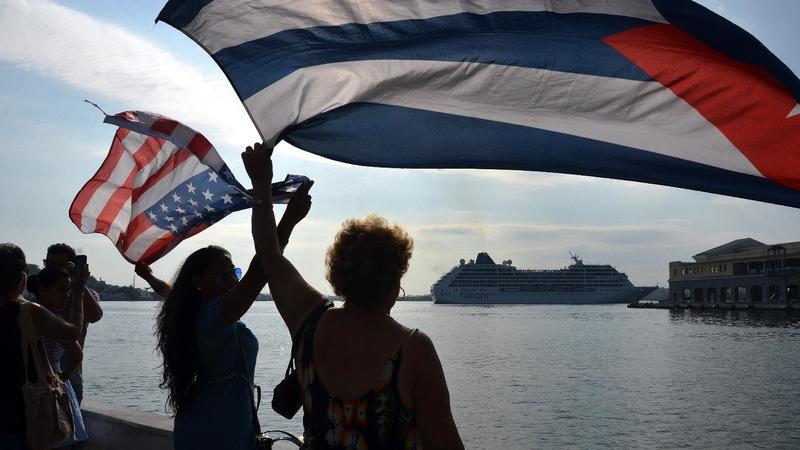 Después de casi 40 años llega a la Habana el primer crucero de E.U