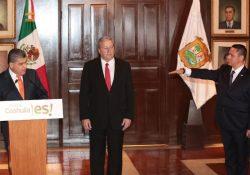 Toma protesta José Luis Pliego como nuevo Secretario de Seguridad