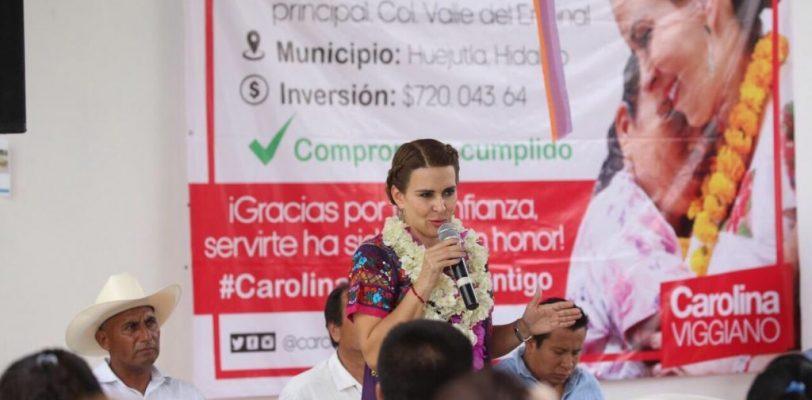 Renuncia Carolina Viggiano al CEN del PRI