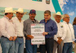 Entrega MARS apoyos a productores agropecuarios de la Laguna por 53 mdp