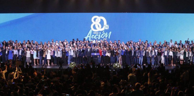 Convoca el PAN a la unidad en su 80 Aniversario