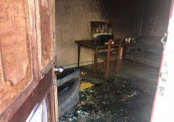 Pandilleros incendian vivienda deshabitada en Saltillo 2000