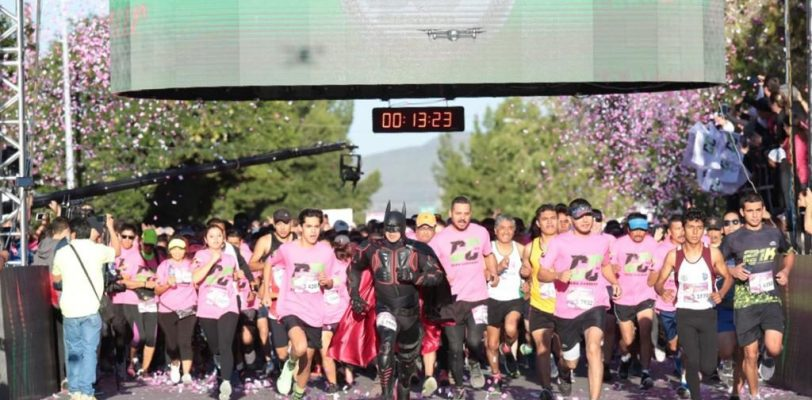 Corren contra el Cáncer en Coahuila
