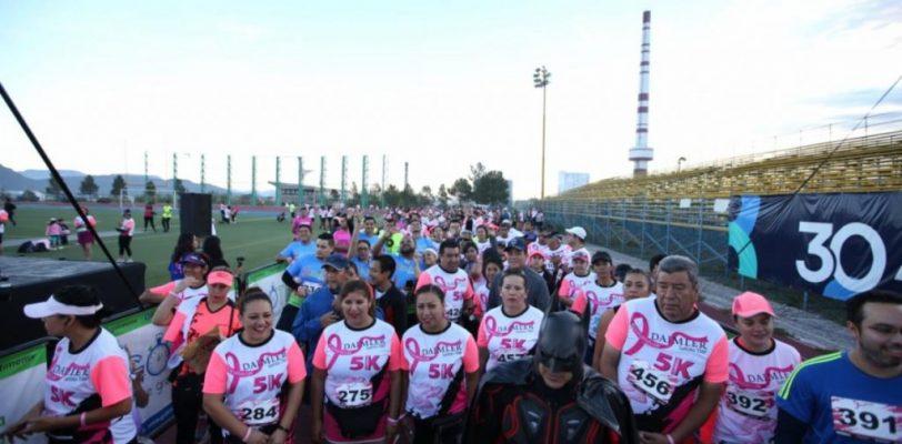 En Saltillo juntos contra el cáncer de mama
