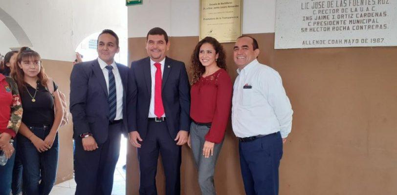 Certifica el ICAI a Preparatoria de Allende de la UAdeC