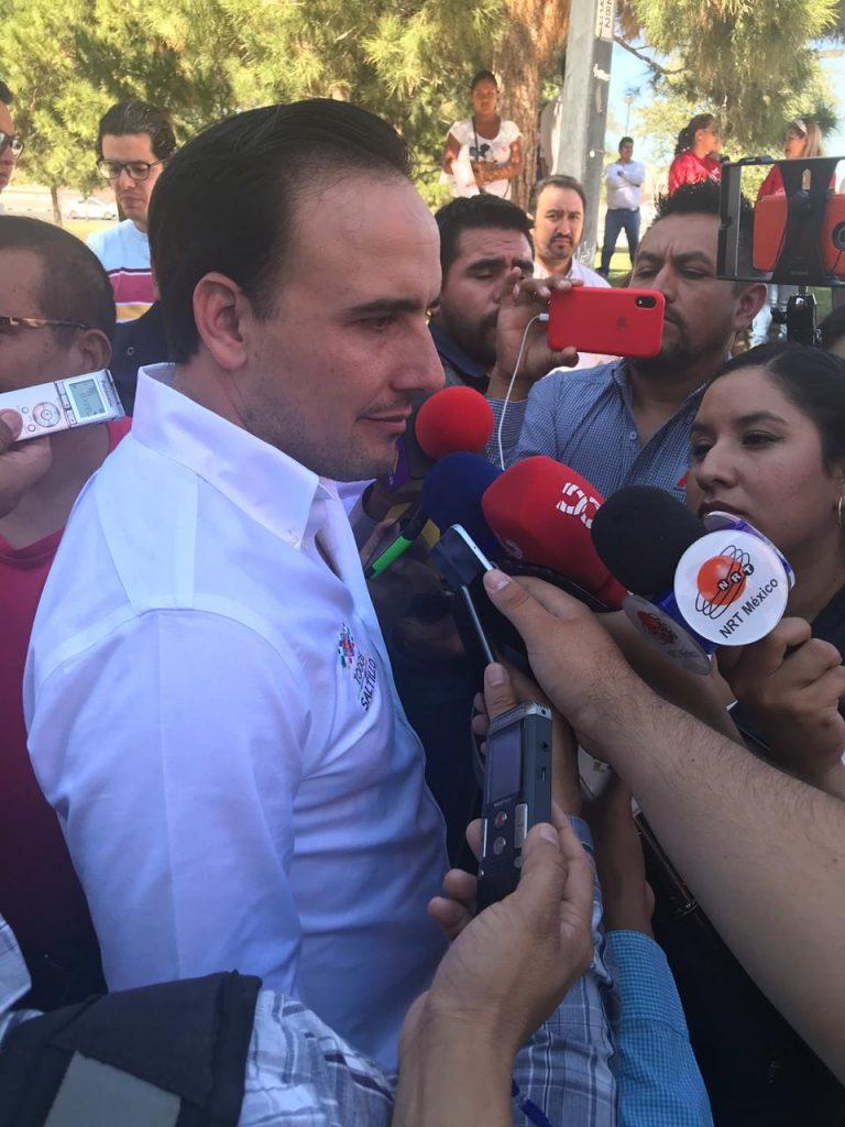 "Avanza 17%  programa ""Saltillo se prende"""