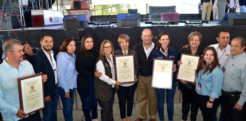 Recibe Cuatro Cienegas dos premios nacionales