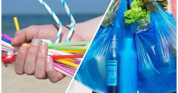 Multarán en el 2020 a quien utilice bolsas de plástico y popotes
