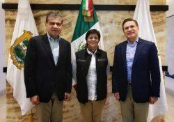 Se reúnen gobernadores de Coahuila y Durango con con directora de CONAGUA
