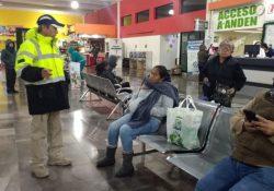 Permanente operativo de respuesta ante bajas temperaturas en Saltillo