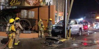 Sufre exalcalde de Saltillo accidente automovilístico
