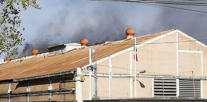 Incendio en Vitromex origina movilización