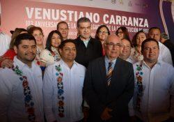 En tierra de Carranza, conmemora MARS 103 Aniversario de la Constitución Mexicana