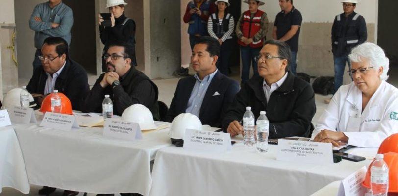Un avance del 82% en la construcción del Hospital del IMSS en Acuña