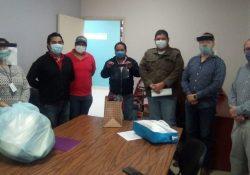 Apoya Escuela de Medicina Unidad Norte de la UAdeC con Caretas  Protectoras en Hospital General Piedras Negras